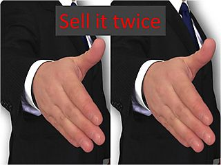 Sell it twice